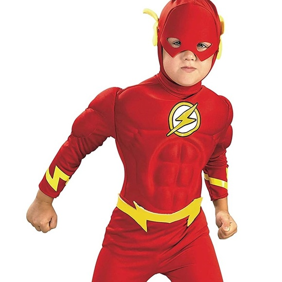 DC Comics Muscle Chest The Flash Child's Costume
